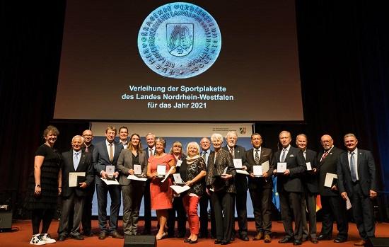 Land-NRW-Sportplakette-Verleihung